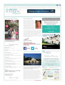 Your Berks, Bucks and Oxon Wedding magazine - March 2015 newsletter