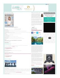 Your South Wales Wedding magazine - March 2015 newsletter