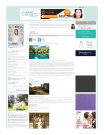 Your South Wales Wedding magazine - April 2015 newsletter