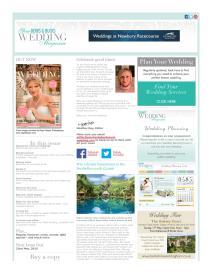 Your Berks, Bucks and Oxon Wedding magazine - May 2015 newsletter