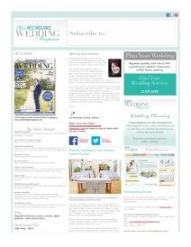 Your West Midlands Wedding magazine - May 2015 newsletter
