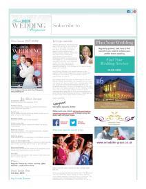 Your London Wedding magazine - May 2015 newsletter