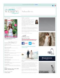 Your South Wales Wedding magazine - June 2015 newsletter