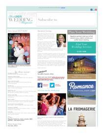 Your London Wedding magazine - June 2015 newsletter