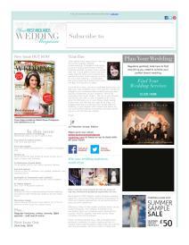 Your West Midlands Wedding magazine - June 2015 newsletter