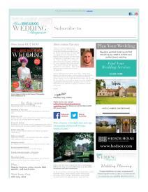 Your Berks, Bucks and Oxon Wedding magazine - July 2015 newsletter