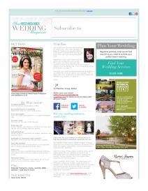 Your West Midlands Wedding magazine - July 2015 newsletter