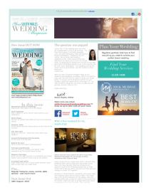 Your South Wales Wedding magazine - July 2015 newsletter