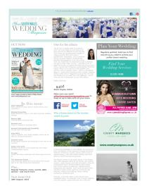 Your South Wales Wedding magazine - August 2015 newsletter