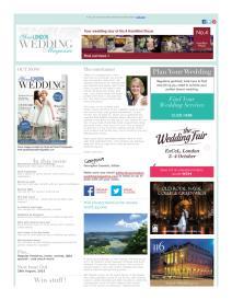 Your London Wedding magazine - August 2015 newsletter