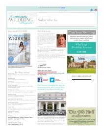 Your Berks, Bucks and Oxon Wedding magazine - August 2015 newsletter