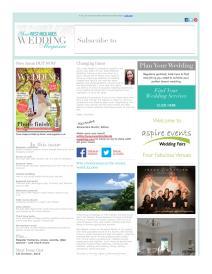 Your West Midlands Wedding magazine - August 2015 newsletter