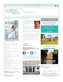 Your Berks, Bucks and Oxon Wedding magazine - September 2015 newsletter