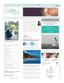 Your South Wales Wedding magazine - September 2015 newsletter
