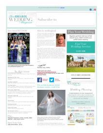 Your Berks, Bucks and Oxon Wedding magazine - October 2015 newsletter