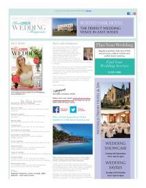 Your London Wedding magazine - October 2015 newsletter