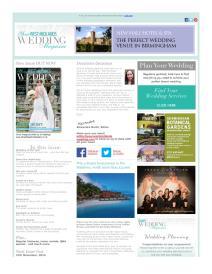 Your West Midlands Wedding magazine - October 2015 newsletter