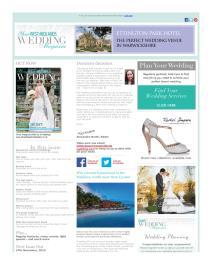 Your West Midlands Wedding magazine - November 2015 newsletter