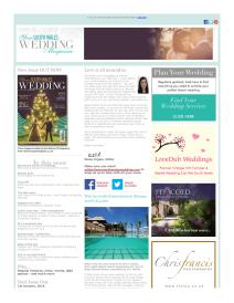 Your South Wales Wedding magazine - November 2015 newsletter