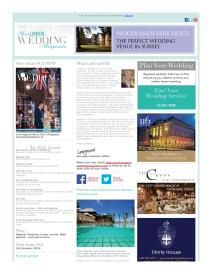 Your London Wedding magazine - November 2015 newsletter
