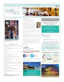 Your London Wedding magazine - December 2015 newsletter