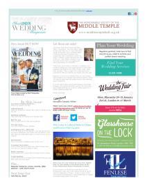 Your London Wedding magazine - January 2016 newsletter