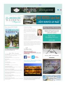 Your Berks, Bucks and Oxon Wedding magazine - February 2016 newsletter