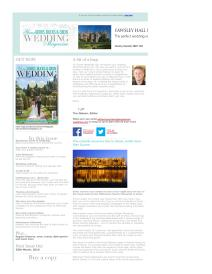 Your Berks, Bucks and Oxon Wedding magazine - March 2016 newsletter