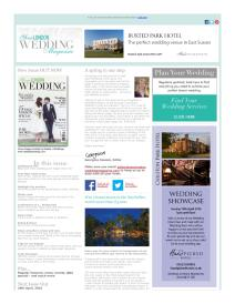 Your London Wedding magazine - March 2016 newsletter
