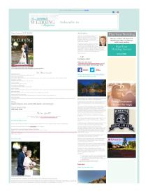 Your South Wales Wedding magazine - March 2016 newsletter