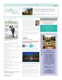 Your London Wedding magazine - April 2016 newsletter