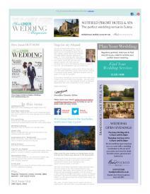 Your London Wedding magazine - April 2016 newsletter