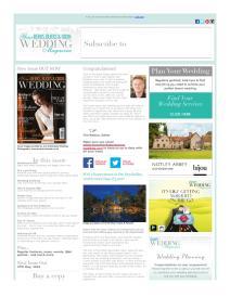 Your Berks, Bucks and Oxon Wedding magazine - April 2016 newsletter