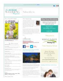 Your West Midlands Wedding magazine - April 2016 newsletter