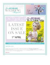 Your West Midlands Wedding magazine - May 2016 newsletter