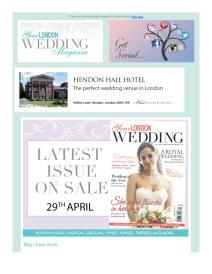 Your London Wedding magazine - June 2016 newsletter