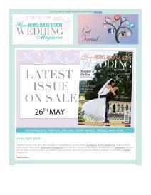 Your Berks, Bucks and Oxon Wedding magazine - June 2016 newsletter
