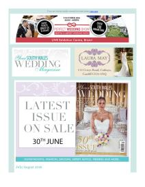 Your South Wales Wedding magazine - July 2016 newsletter