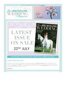 Your Berks, Bucks and Oxon Wedding magazine - August 2016 newsletter