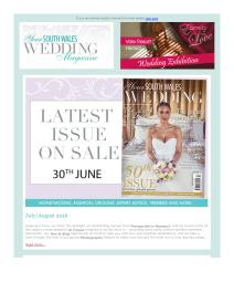 Your South Wales Wedding magazine - August 2016 newsletter