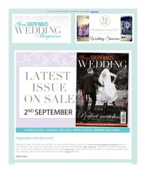 Your South Wales Wedding magazine - September 2016 newsletter