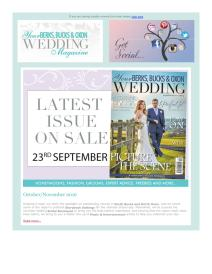 Your Berks, Bucks and Oxon Wedding magazine - Ocotber 2016 newsletter