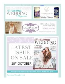 Your South Wales Wedding magazine - November 2016 newsletter