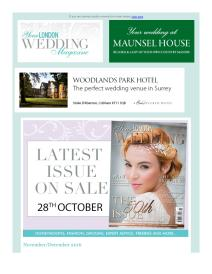 Your London Wedding magazine - November 2016 newsletter