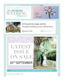Your West Midlands Wedding magazine - November 2016 newsletter