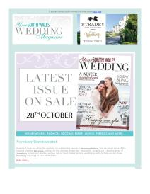 Your South Wales Wedding magazine - December 2016 newsletter
