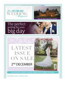 Your West Midlands Wedding magazine - December 2016 newsletter