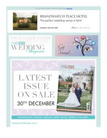 An Essex Wedding magazine - January 2017 newsletter
