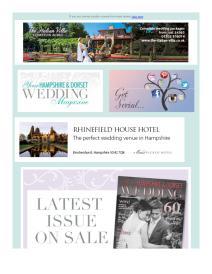 Your Hampshire and Dorset Wedding magazine - January 2017 newsletter