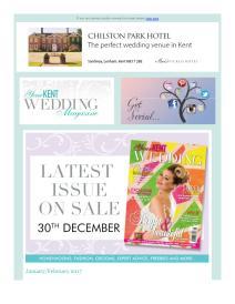 Your Kent Wedding magazine - January 2017 newsletter